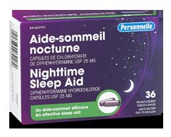 Image du produit Personnelle - Aide-sommeil nocturne, 36 unités