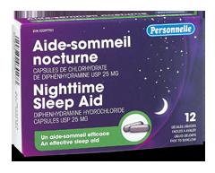 Image du produit Personnelle - Aide-sommeil nocturne, 12 unités
