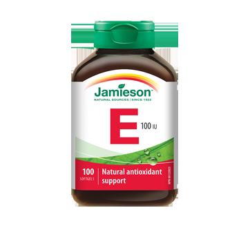 Image du produit Jamieson - Vitamine E 100 UI - 67 mg AT, 100 unités
