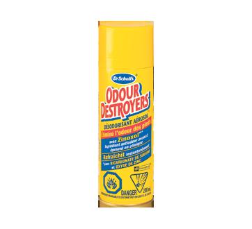 Image du produit Dr. Scholl's - Odour Destroyers poudre désodorisante en aérosol pour toute la journée, 133 g