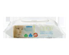 Image du produit Personnelle Bébé - Lingettes pour bébé peau sensible, 64 lingettes