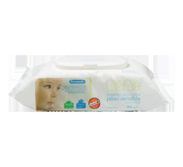 Lingettes pour bébé peau sensible, 64 unités