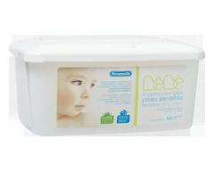 Image du produit Personnelle - Lingettes pour bébé peau sensible, 65 lingettes