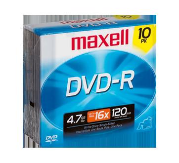 DVD-R 4,7 go, 10 unités