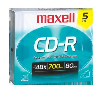 CD-R 700 MB, 5 unités