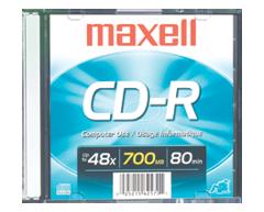 Image du produit Maxell - CD-R 700 MB, 1 unité