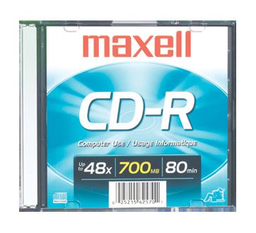CD-R 700 MB, 1 unité