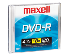 Image du produit Maxell - DVD-R 4,7 go, 1 unité