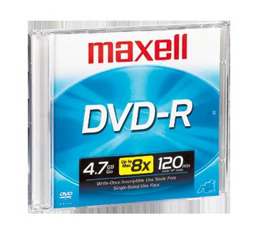 DVD-R 4,7 go, 1 unité