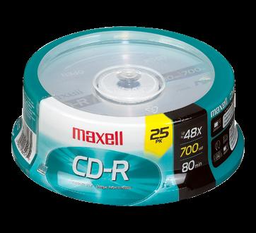 CD-R 700 MB, 25 unités