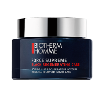 Force Supreme Black Regenerating Care soin de nuit récupérateur intégral, 75 ml