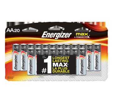 Max piles alcalines AA, 4 unités