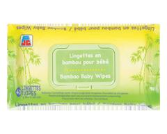 Image du produit PJC - Lingettes en bambou pour bébé, 40 unités