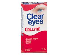 Image du produit Clear Eyes - Clear Eyes Collyre, 15 ml