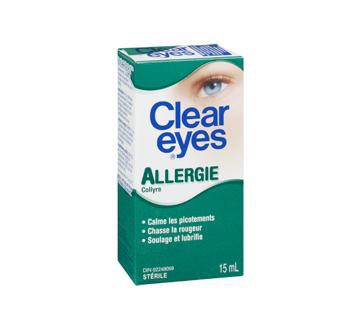 Image 2 du produit Clear Eyes - Clear Eyes allergie, 15 ml