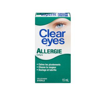 Image 3 du produit Clear Eyes - Clear Eyes allergie, 15 ml