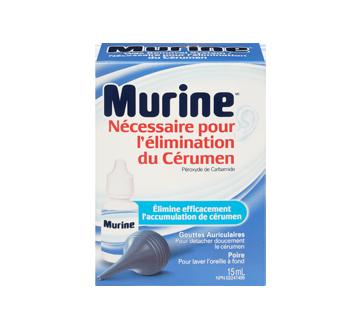 Image 3 du produit Murine - Murine nécessaire pour l'élimination du cérumen, 15 ml