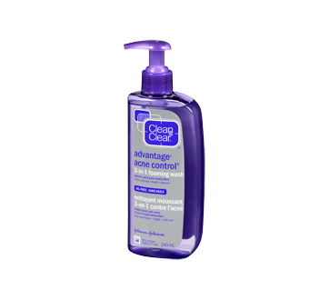 Image 3 du produit Clean & Clear - Advantage Acne Control nettoyant moussant 3-en-1 contre l'acné, 240 ml