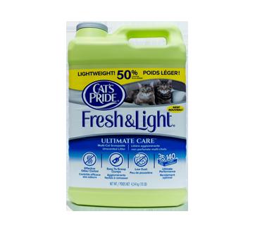 Fresh & Light litière agglométante, 4,54 kg, non parfumée