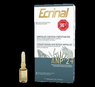 ANP 2+ ampoules cheveux, 8 x 5 ml