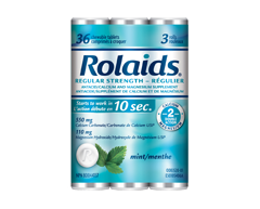 Image du produit Rolaids - Antiacide régulier à la menthe, 150 comprimés