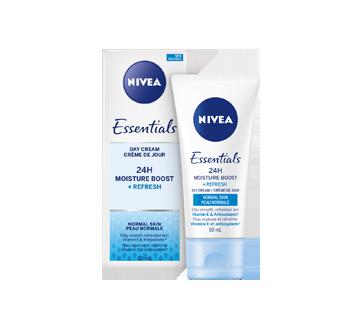 Image 2 du produit Nivea - Essentials 24h Moisture Boost + Refresh crème de jour, 50 ml, peau normale