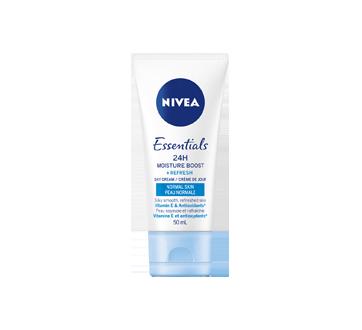 Image 3 du produit Nivea - Essentials 24h Moisture Boost + Refresh crème de jour, 50 ml, peau normale