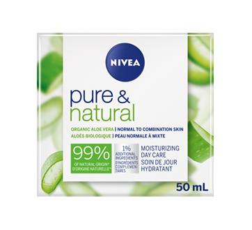 Soin de jour hydratant Pure & Natural, 50 ml