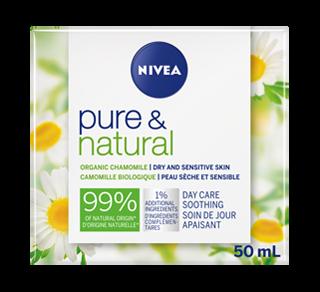 Pure & Natural soin de jour apaisant, 50 ml