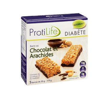 Image 2 du produit ProtiLife - Diabète barre, 5 x 35 g, chocolat et arachides