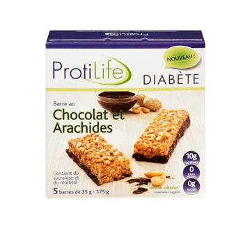 Image 3 du produit ProtiLife - Diabète barre, 5 x 35 g, chocolat et arachides