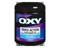 Image du produit Oxy - Tampons médicamenteux anti-acné triple action, 90 unités