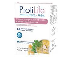 Image du produit ProtiLife - Diète mélange à soupe poulet et nouilles, 5 x 39 g