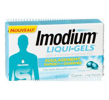 Image du produit Imodium - Imodium Liqui-Gels, 12 unités