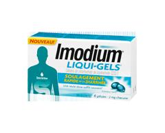 Image du produit Imodium - Liqui-Gels, 6 unités