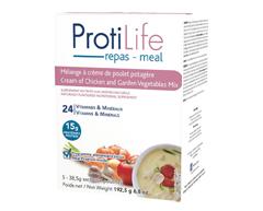 Image du produit ProtiLife - Diète mélange à soupe, 5 x 38,5 g, crème de poulet potagère