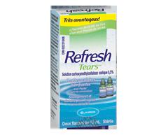 Image du produit Allergan - Refresh Tears gouttes oculaires lubrifiantes, 2 x 15 ml