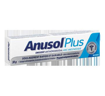 Image du produit Anusol - Anusol Plus onguent, 30 g
