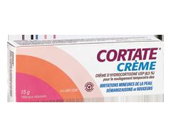 Image du produit Cortate - Crème d'hydrocortisone 0,5 %, 15 g