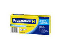 Image du produit Preparation-H - Preparation-H suppositoires, 12's