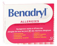 Image du produit Benadryl - Benadryl caplets, 12  unités