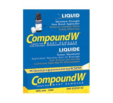 Image du produit Compound W - Compound W liquide à action rapide, 10 ml