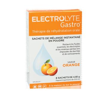 Image du produit Electrolyte Gastro - Electrolyte Gastro - sachets, 8 X 4,9 g, orange