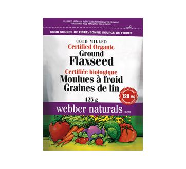 Graines de lin biologiques, 425 g