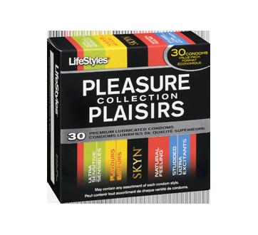 Image 2 du produit LifeStyles - Collection Plaisir condoms, 30 unités