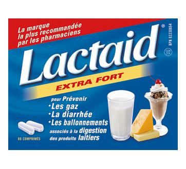 Image 1 du produit Lactaid - Extra fort comprimés, 80 unités