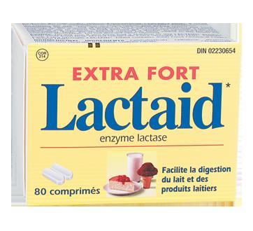 Image 2 du produit Lactaid - Extra fort comprimés, 80 unités