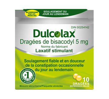 Image du produit Dulcolax - Laxatif stimulant, 10 unités