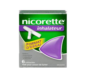 Image 1 du produit Nicorette - Nicorette inhalateur, 6 unités, 4 mg