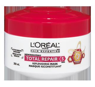 total repair 5 masque 300 ml cheveux abim s l 39 or al paris traitement jean coutu. Black Bedroom Furniture Sets. Home Design Ideas